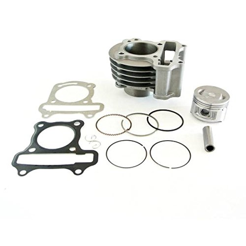 Generic 100cc Big Bore Zylinder Kit Passt GY650cc 4Cycle Chinesische Scooter 139QMB Upgrade (Gy6 Big Bore Zylinder Kit)