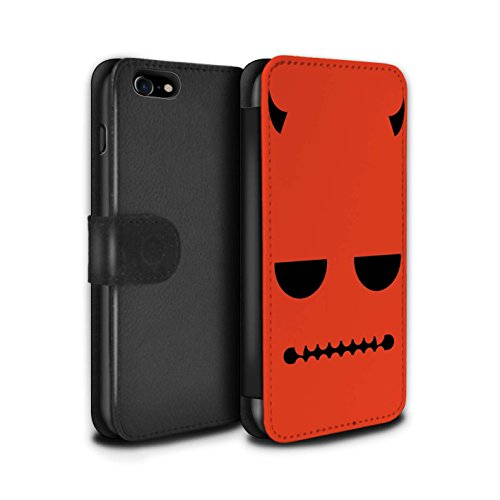 Stuff4 Coque/Etui/Housse Cuir PU Case/Cover pour Apple iPhone 5C / Frankenstein Design / Personnage Halloween Collection Diable