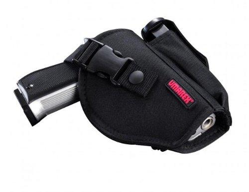 UMAREX GÜRTELHOLSTER mit Magazintasche aus Nylon für mittelgroße Pistolen