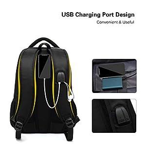 41XtrJM5rfL. SS300  - FANDARE Mochila para 14 Pulgadas Laptop Bolsa de Escuela Hombre Mujer Mochilas Tipo Casual Bolsos Bolsa de Viaje Niño…