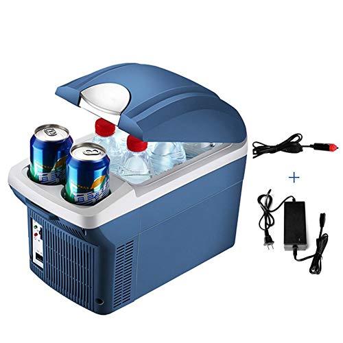 WanNing8L Mini Tragbare Kühlung Isolierung Kühlschrank Gefrierschrank Inkubator Dual-Use-Kühler Geeignet für Auto Home Office Outdoor Picknick Reise Bequem