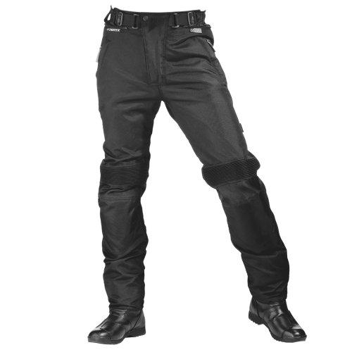 Roleff Racewear Motorradhose Textil, Schwarz, L