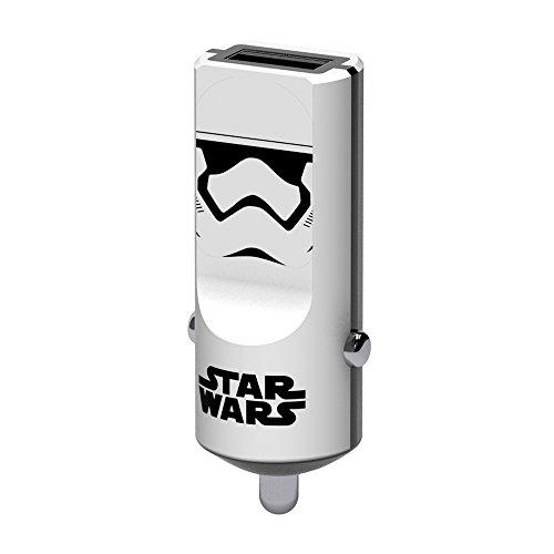 z Auto Ladegerät 2.4 A I Fast Charge I 1 Port USB Ladegerät für iPhone 7, 6/6S, 5, Samsung Galaxy S6, iPad Tablet PC etc. - Stormtrooper ()