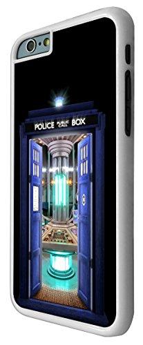 249-Doctor Who Tardis Call Box Travel Machine Coque iPhone 66S 4.7Design Fashion Trend Case Back Cover Métal et Plastique-Blanc