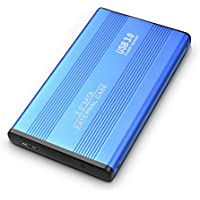 AUPEL Disco Duro Externo 2tb USB 3.0 Disco Duro Externo para Mac, PC, PS4,MacBook, Chromebook, Xbox (2tb, azul)