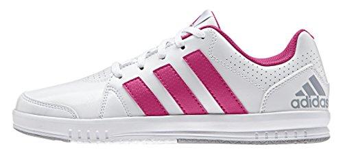 adidas Performance Unisex-Kinder Lk Trainer 7 Laufschuhe Weiß (Ftwr White/Eqt Pink S16/Mid Grey S14)