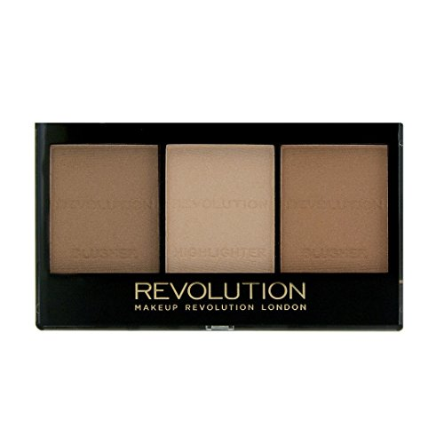 Makeup Revolution Ultra Brightening Contour Kit Ultra Light/Medium C04, 11g
