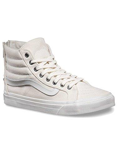 Herren Sneaker Vans Sk8-Hi Slim Zip Sneakers (overwashed) blanc de bla