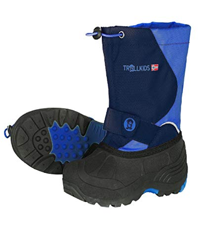 Trollkids Kinder Winter Stiefel Telemark, Marineblau/Mittelblau, Größe 26 EU