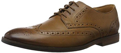 Clarks Broyd Limit, Scarpe Stringate Basse Oxford Uomo Marrone (Tan Leather)