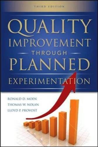 Quality Improvement Through Planned Experimentation 3/E por Ronald Moen