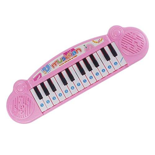 Black Temptation Piano Musical del Instrumento de música de Juguete Rosado de Educación para Niños