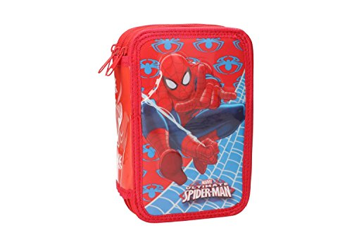 Trousse garnie Spiderman 3 compartiments