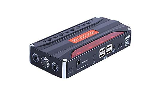 SKINGO Kit de démarrage pour Batterie de Secours 12V avec démarreur de Voiture avec Lampe de Poche à Del de Charge de Sortie USB