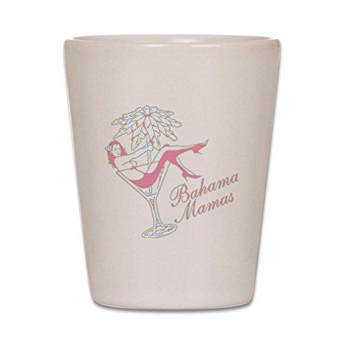 CafePress–Bahama Mamas–Schnapsglas, Einzigartige und Funny Shot Glas weiß