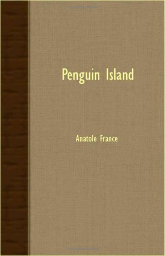 Book cover for Penguin Island