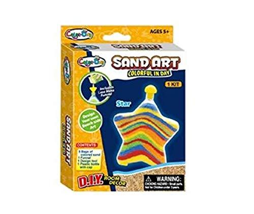 Stelle deinen Kinder Spielzeug Adventskalender selber zusammen Spielsachen Mädchen Junge einzelne kleine Spielware Paket (Sand Art kit)