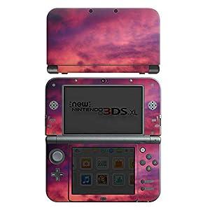DeinDesign Skin kompatibel mit Nintendo New 3DS XL Aufkleber Sticker Folie Lila Wolken Himmel
