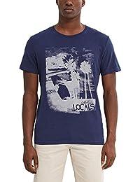 Esprit 047ee2k019-Print, T-Shirt Homme