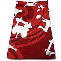 ewtretr Toallas De Mano, Socks Skater Boy Cool Towel Beach Towel Instant Cool Ice Towel