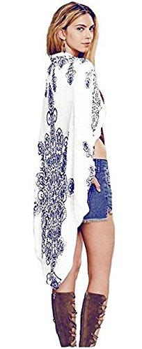 AGOGO-2017-bohemio-Moda-Mujer-para-presionar-kimono-Crdigan-blusa-Tops-vestido-de-playa-bikini-Cubrir