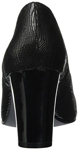 Caprice 22404, Escarpins Femme Noir (Black Reptile)