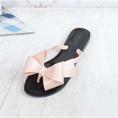 RUGAI-UE Sommer Mode Frauen Sandalen Schuhe Casual PU Komfort Heels Outdoor Wandern, Rot, US 11,5 / EU 43/UK9.5/CN 45 Blushing Pink
