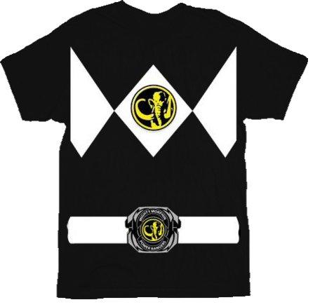 z Rangers Kostüm Erwachsene T-Shirt, XX-Large (Power Rangers T-shirt Für Erwachsene)