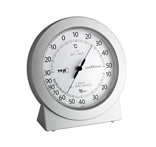 TFA 45.2020 - Temómetro / hidrógrafo de precisión 120 x 115 x 40 mm