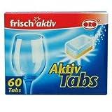 ORO ORO frisch-aktiv Geschirr-Reiniger Aktiv-Tabs 60 Tabs à 18 g