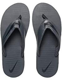 118c3e906567e9 Nike Men s Thunder Blue Blackened Blue Chroma Thong 5 Flip Flops  (N833808-410