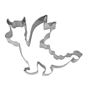 Staedter Emporte-pièce en forme de dragon, Argent,, Acier inoxydable, Silver, 10.5 cm