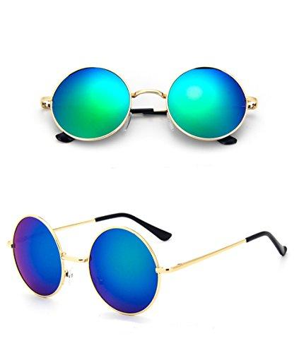 Chic-Net Gafas gafas de sol hippie Unisex Ronda John Lennon tintados 4