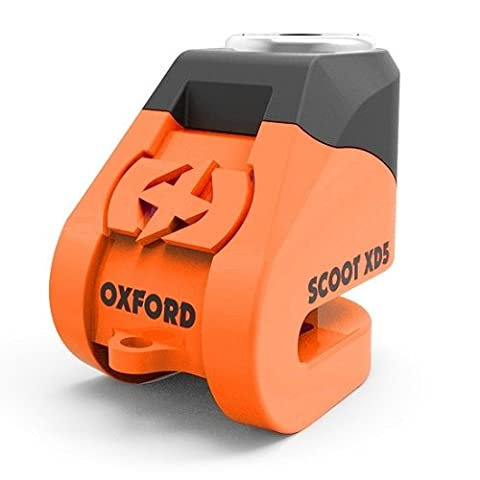 OXFORD - Bloque disque SCOOT XD5 (5mm) orange/noir