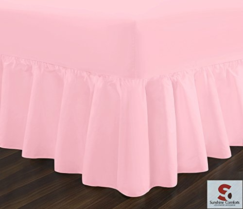non-iron-percale-premium-bedding-valance-sheet-pillow-case-180-thread-count-frilled-14-beautiful-col