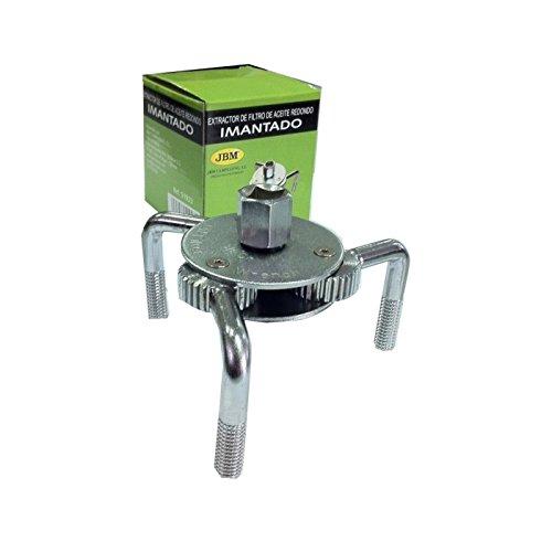 JBM 51923 - Extractor filtro de aceite con pata redonda imantado