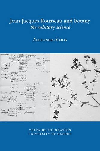 Jean-Jacques Rousseau and Botany: The Salutary Science ((SVEC )) par Alexandra Cook