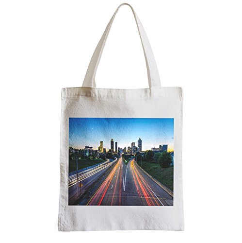 Fabulous Grand Sac Shopping Plage Etudiant Atlanta road USA time lapse voitures walking dead