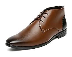 San Frissco Mens Tan Chukka Boots - 9 UK