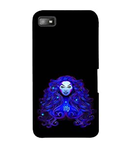 PrintVisa Designer Back Case Cover for BlackBerry Z10 (Painitings Watch Cute Fashion Laptop Bluetooth )