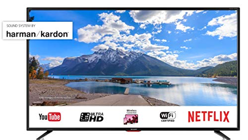SHARP LC-55UI7352E 139 cm (55 Zoll) Fernseher (4K Ultra HD Smart  LED TV, Triple Tuner)