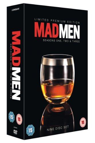 Mad Men-Seasons 1-3 [Reino Unido] [DVD]