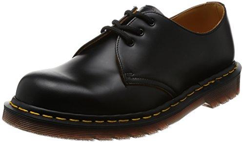 Dr. Martens 1461 Vintage Quilon BLACK, Unisex-Erwachsene Derby Schnürhalbschuhe, Schwarz (Black), 44 EU (9.5 Erwachsene UK)