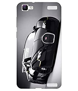VIVO V1 Max Printed Back Case Cover By Snazzy