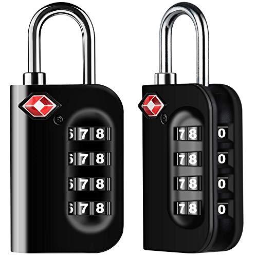 Diyife TSA Equipaje Locks, [2 Paquetes] 4 DíGitos...