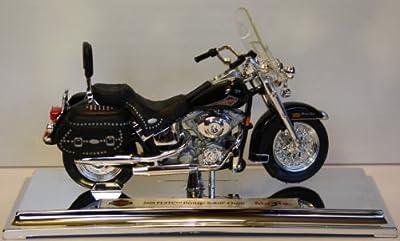 Motorrad Modell Harley Davidson 2000 FLSTC Heritage Softail Classic - Maisto 1:18 von Maisto