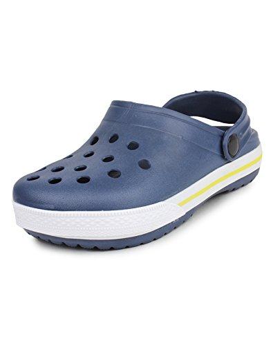 Do Bhai Hongkong Fashionable, Stylish, Waterproof Clogs for Girls (EU35, Navy-Blue)
