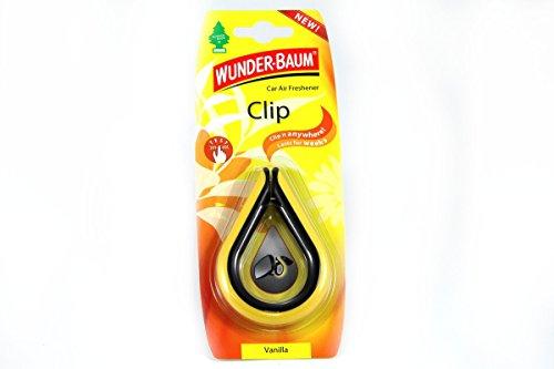 WUNDERBAUM 265020 Lufterfrischer Clip Vanilla