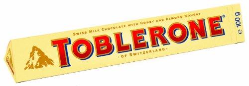 Preisvergleich Produktbild Toblerone,  Tafel-Schokolade,  5er Pack (5 x 100 g)