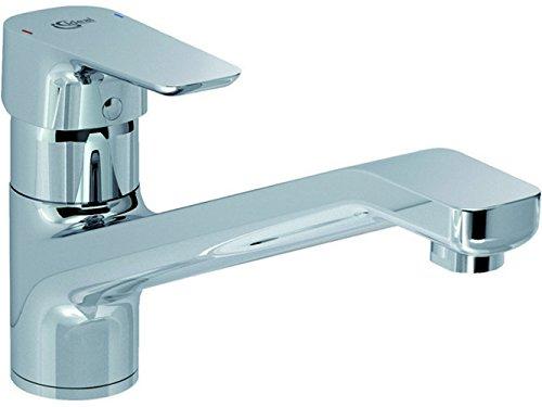 Ideal Standard B0722AA Einhebel-Küchenarmatur CeraPlan III | Spültischarmatur/Küchenarmatur CeraPlan 3 | Oberfläche chrom, Ausladung 234 mm, Auslaufhöhe 124 mm